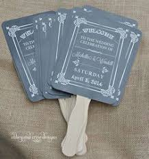 chalkboard wedding program template diy ornate vintage paddle fan wedding program template add your