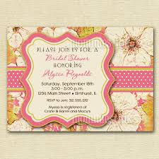 vintage bridal shower vintage bridal shower tea invitations invitation ideas