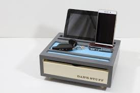 Desk Accessories Gifts Fathers Day Gift Desk Organizer Stand Iphone Desk