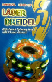 musical dreidel the most amazing musical light up laser dreidel for