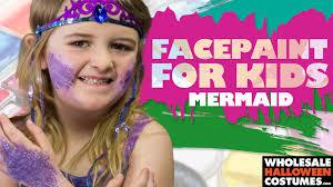wholesale halloween costumes com face paint for kids mermaid wholesale halloween costumes blog