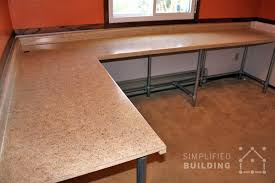 Diy L Desk 17 Diy Corner Desk Ideas To Build For Your Office Simplified