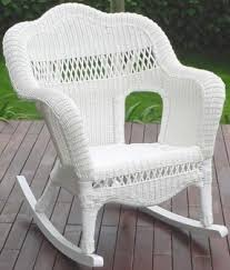 Resin Wicker Rocking Chair Resin Wicker Chairs Foter