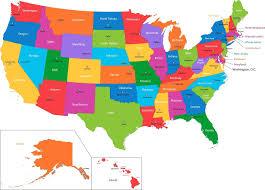 map usa states free printable free printable map of usa map usa states 50 national