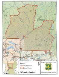 Wayne National Forest Map Crime Wyoming Public Media