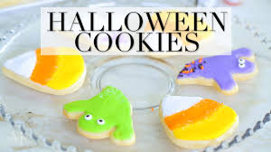 delicious halloween sugar cookies to make at home youtube