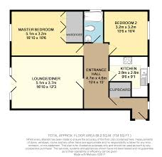 2 bedroom flat for sale in pavement square croydon cr0 6tl