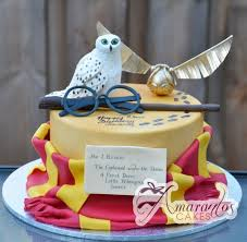 harry potter themed cake nc127 amarantos cakes