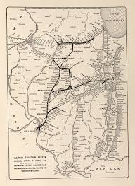 Map Of Illinois With Cities Mcgraw Electric Railway Manual Perry Castañeda Map Collection