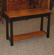Amish End Tables by Madison Bow Sofa Table Amish Oak