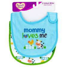 halloween bib parent u0027s choice side closure infant bibs 2 count walmart com