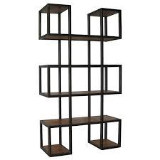 block bookcase diy floating shelves wood block floating shelves