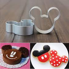 emporte cuisine emporte pièce pâtisserie métal mickey moule gâteau découpe pâte
