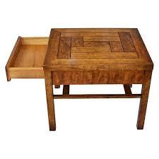 caign style side tables caign style side tables by drexel pair chairish