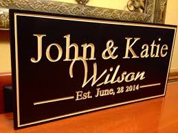 amazon com one of a kind personalized sign custom wood sign