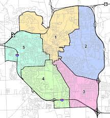 Washington Dc Ward Map by Damn Arbor August 2011