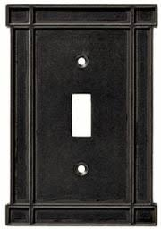 craftsman style light switches arts n crafts soft iron switch plates image outlet covers