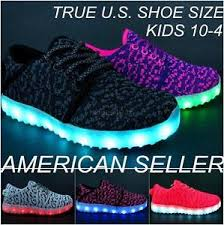 light up shoes size 4 kids light up shoes boys girls led sneakers luminous usb charger