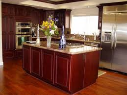 Cherry Red Kitchen Cabinets Cherry Kitchen Cabinets With Granite Countertops Kitchen U0026 Bath