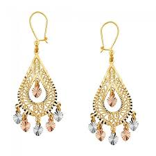 chandelier earings pear shaped chandelier earrings ejer22807