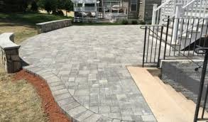 How To Paver Patio Paver Patios And Walkways American Exteriors Masonry