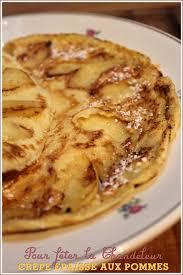 recette cuisine laurent mariotte crêpe épaisse aux pommes pour la chandeleur recette de laurent