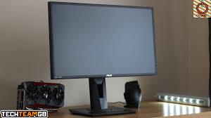 black friday 144hz monitor asus mg248q 144hz freesync gaming monitor review youtube