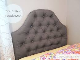 Diy Tufted Headboard Bedroom Engaging From Start To Finish I Was Able To Complete
