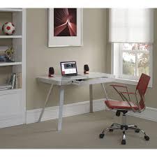 White Glass Computer Desk by Bell U0027o White Glass Desk Od10205 48 Wht The Home Depot