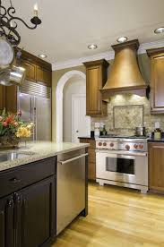 kitchen impressive l shape kitchen design using grey stone veneer