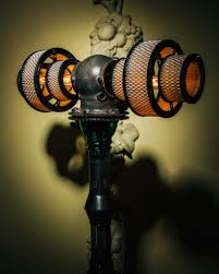 atlas steampunk lamp by futility studios