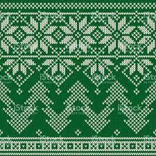 christmas pattern knit fabric winter holiday seamless knitted pattern with a christmas trees