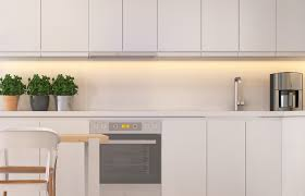 Kitchen Counter Lights Appliances White Stylish Kitchen Cabinet Under Cabinet Light With