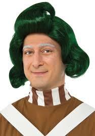 Oompa Loompa Halloween Costumes Adults Mens Oompa Loompa Wig