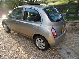 nissan micra alloy wheels nissan micra 1 5 se a c dci 5 door hatch diesel electric sunroof