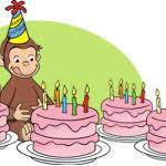 curious george birthday party template free invitations ideas