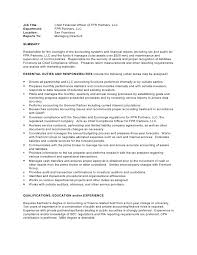 Cfo Resume Examples by Chief Financial Officer Job Description Executive Resume Template
