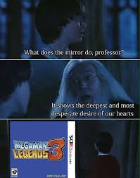 Mirror Meme - harry potter and the undying legend mega man rockman know