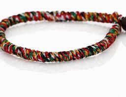bracelet string images Buddhist quot monk quot bracelet snake knotted prayer string lhasa jpg