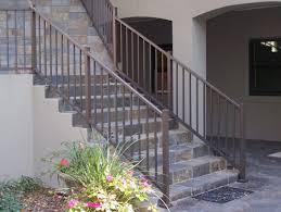 Outdoor Metal Handrails Stairs Amazing Indoor Wrought Iron Railings Excellent Indoor