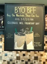 starbucks wants you to treat a pal to a bogo macchiato for