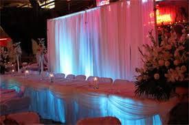 led lighting for banquet halls linens chiavari chairs wall draping led lighting event lighting