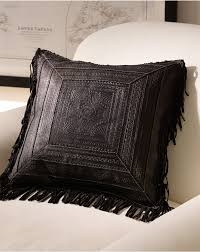 faux leather throw pillows fringed throw pillows pillow decoration