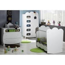chambre complète bébé avec lit évolutif chambre bébé complète plexi blanc leonblck01p