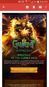 just got my invite to gwent closed beta for xbox one check your