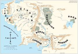 Lord Of The Rings World Map by 46 The Fellowship Of The Ring Based On A True Story