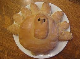 last year thanksgiving almost unschoolers turkey bread