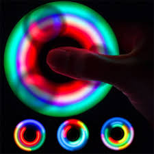 a light up fidget spinner light up fidget spinner full color on pads 4allpromos