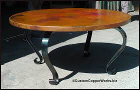 Mexican Copper Top Dining Tables Copper Tubs Copper Sinks - Copper kitchen table