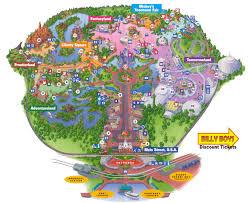 Disney World Resort Map Walt Disney World Resort Map Within Roundtripticket Me